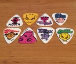 Grover Allman Mr Men Guitar Picks Pack of 8 Brand New